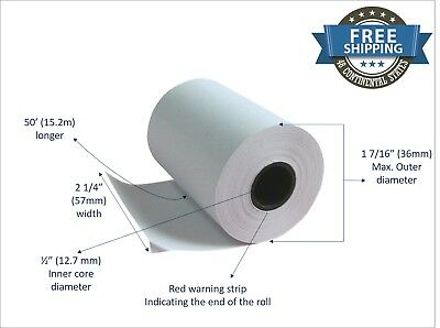 Clover Flex, Mini and Mobile - Thermal Paper 2 1/4 x 50 (10 rolls)