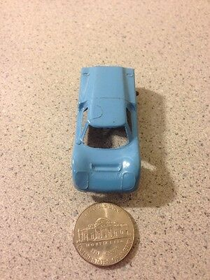 1960's Vintage Tootsietoy Metal Baby Blue Ford GT w/ Plastic Tires Chicago U.S.A