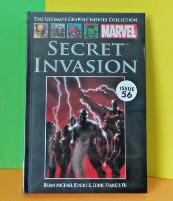 Marvel Ultimate Graphic Novel Collection 58 Secret Invasion Issue 56 New Sealed