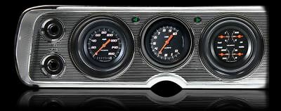 Velocity Series Black 1964-65 Chevelle Gauges - Classic Instruments - CV64VSB