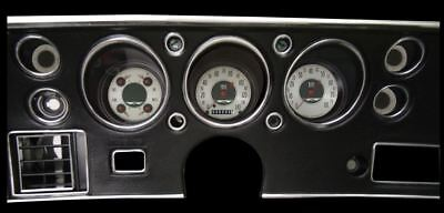 All American Nickel 1970-72 Chevelle SS Gauges - Classic Instruments - CV70AN