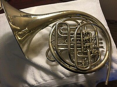 Holton H177 Double Wrap Pro Farkas French Horn Very Nice Shape W/case!!!
