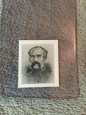 1910's Colgan Gum Confederate Portrait Card - Isaac Trimble Maryland #90