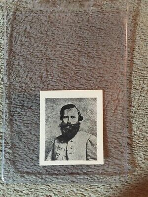 1910's Colgan Gum Confederate Portrait Card - J E B Stuart Virginia #88