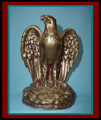 MAGNIFICENT Antique / Vintage HEAVY BRONZE / BRASS ROMAN /American EAGLE Aquila