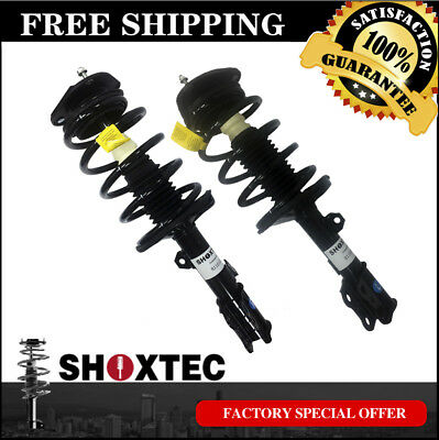 Front Pair Complete Strut for 2003-2008 Toyota Corolla w/ Coil Spring