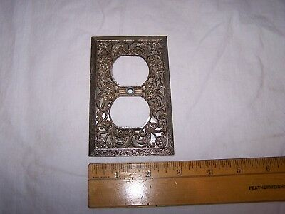 Vintage Fancy - Ornate Mid Century Modern Outlet Cover