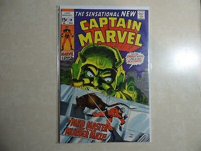 Silver Age Captain Marvel #19...very Fine 7.0 Nice Book!!!!!!!! Gil Kane Artwork