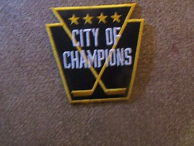 Pittsburgh Penguins Patch - Iron On/Sew On (#3)