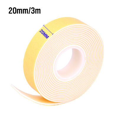 3m Double Sided Foam Tape Stick On Adhesive Mounting 20mm x 3m Heavy Duty Craft