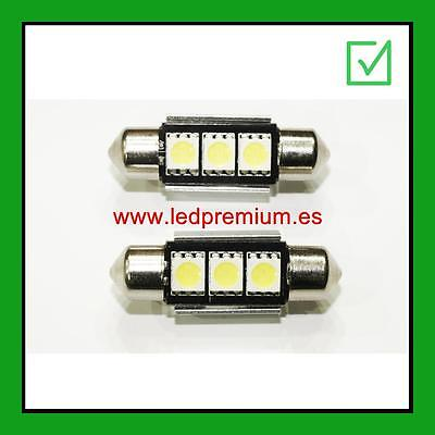 LEDPremium 2x LED BULBS C5W SV8.5 CANBUS 36MM  6000K BMW LED