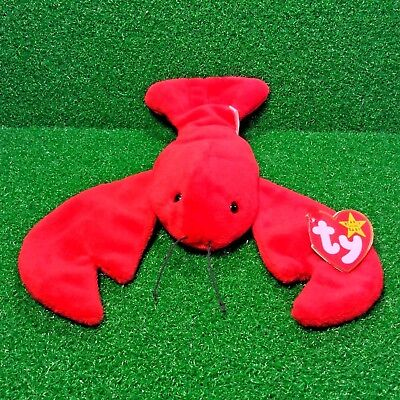 d4f1fc1194d TY Beanie Baby PINCHERS The Lobster MWMT Retired 1993 P.V.C. - Free Shipping