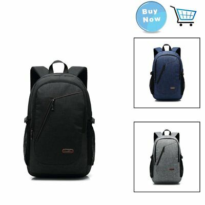 15.6/17 Inches Black/Royal Blue/Gray/Green Laptop Backpack Charging Port Design