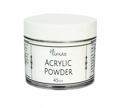 Super Fine 45g Acrylic Powder (Ideal For Dipping) - CRYSTAL CLEAR - Made in UK