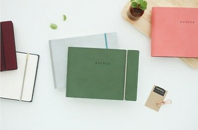 [Agenda Weekly Diary] Undated Daily Monthly Yearly Journal Scheduler Memo Note