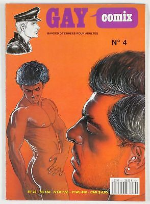 BD adultes  Gay Comix N°4 Centre audiovisuel de production