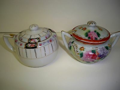 Vintage Collection Of 3 Sugars And 1 Creamer-One Is Nippon