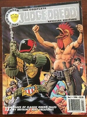The COMPLETE JUDGE DREDD Comic - SPECIAL EDITION - No 1 - Date 1994