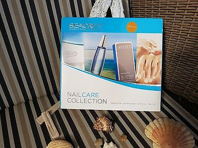 SEACRET Nail Care Collection Set - Milk & Honey inkl. Ersatzpads