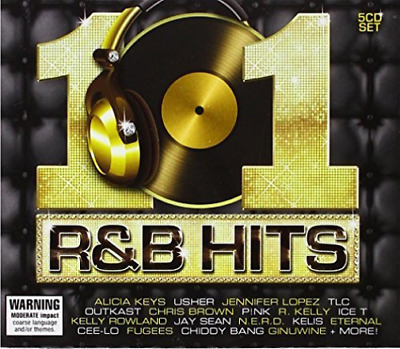 Various Artists-101 R&B Hits  (UK IMPORT)  CD NEW
