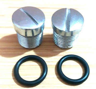 Royal Enfield Bullet 350Cc/500Cc Front Fork Plug Screw + O Ring