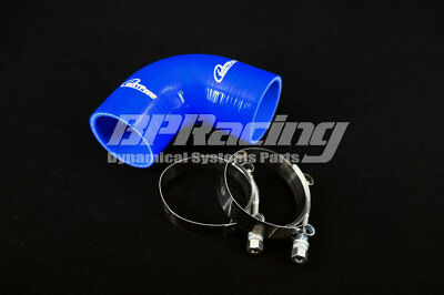 """4"""" inch/102mm 90 Degree Silicone Hose Elbow Bend/Rubber/Coolant Hose/T- clamp"""