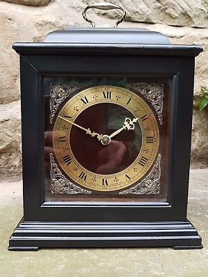A vintage ebonised bracket / mantle clock by Smiths - Astral movement