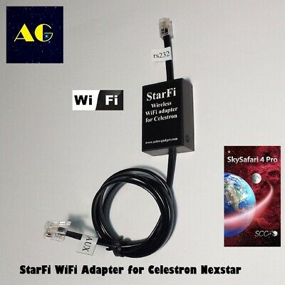 StarFi - WiFi module for wireless control of Celestron telescopes