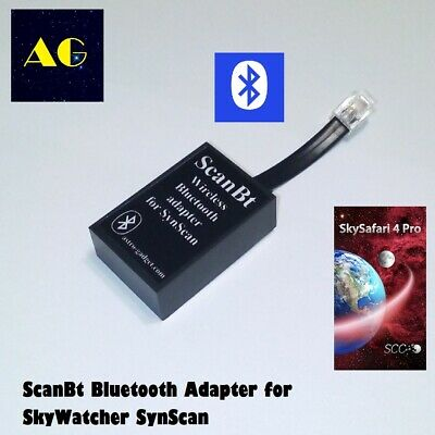 ScanBt - SynScan wireless bluetooth adapter for SkyWatcher ORION telescopes