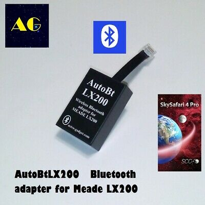 AutoBt LX200 - bluetooth module for MEADE LX200 LX400 LX600 telescopes