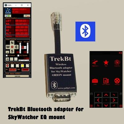 TrekBt - EQDIR bluetooth module for direct control of mounts of SkyWatcher ORION