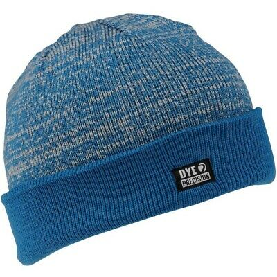 DYE Shredder Heater Beanie Paintball Mütze (blau/grau)