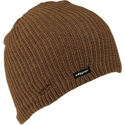 DYE Vice Beanie Paintball Mütze (Earth Brown)
