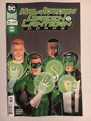 DC Comics: Hal Jordan and the Green Lantern Corps #35 - Variant Cover - BN 2018