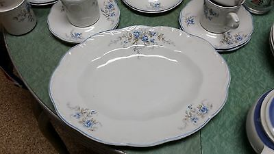 """Sterling Colonial Ironstone J&G Meakin Dellwood Oval Serving Platter 12"""" England"""