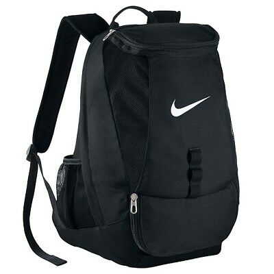 Nike Club Team Backpack Sports Bag School Rucksack Backpacks Gym Training Black