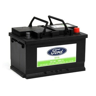 FORD Autobatterie/Starterbatterie 1 917 575, 12V, 60 Ah, 590 A 1917575