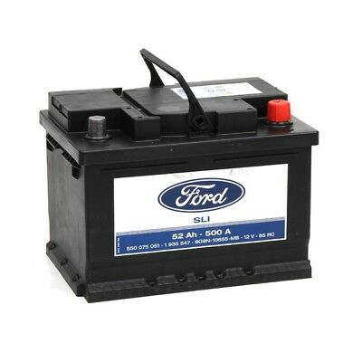 FORD Autobatterie/Starterbatterie 1 935 547, 12V, 52 Ah, 500 A 1935547