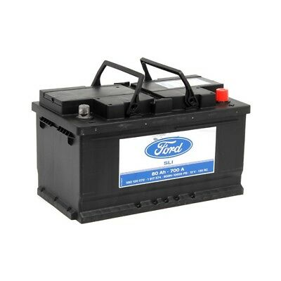 FORD Autobatterie/Starterbatterie 1 917 574, 12V, 80 Ah, 700 A 1917574
