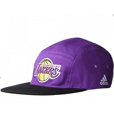 5P CAP LAKERS PUR - Casquette Lakers Basketball Homme Adidas
