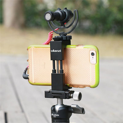 Mobile Phone Camera Bracket Holder Tripod Stand Clip Mount For Monopod Stand