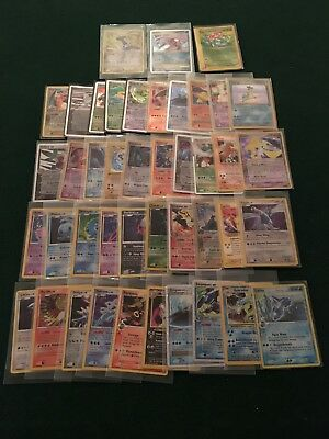 Lot Of 44 Pokemon Cards Inlcuding Ex, Lv.x, Holofoil And Ultra Rare