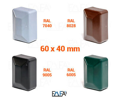 Caps 60x40 mm Rectangle Post Cover Cover Cap Cinch Plastic