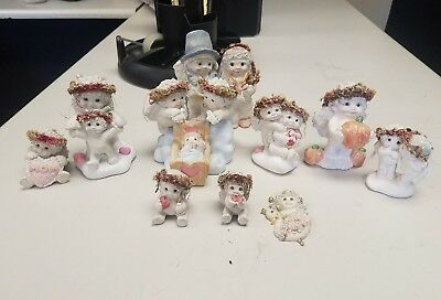 Lot of 10 Dreamsicle Figurines