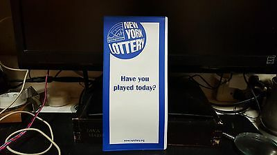"""Brand New """"RARE"""" New York State Lottery Ticket Holder"""