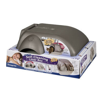 Self Cleaning Automatic Cat Litter Box Regular Rolln Kitty Pewter Scoop Kitten