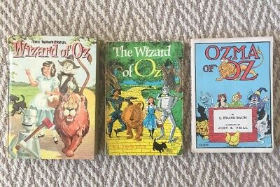 Vintage Lot Of Wizard Of Oz Books