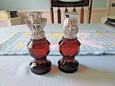 Avon Vintage Chess pieces Queen and King  full, new, Wild Country