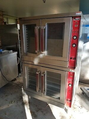 Vulcan Convection oven, natural gas double stack