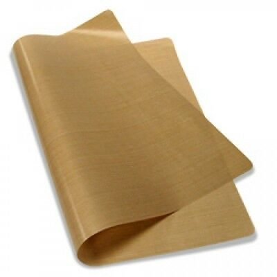"Teflon Cover Sheet 17""X17"" 5 mils for Transfer Paper Iron-On and Heat Press PTFE"